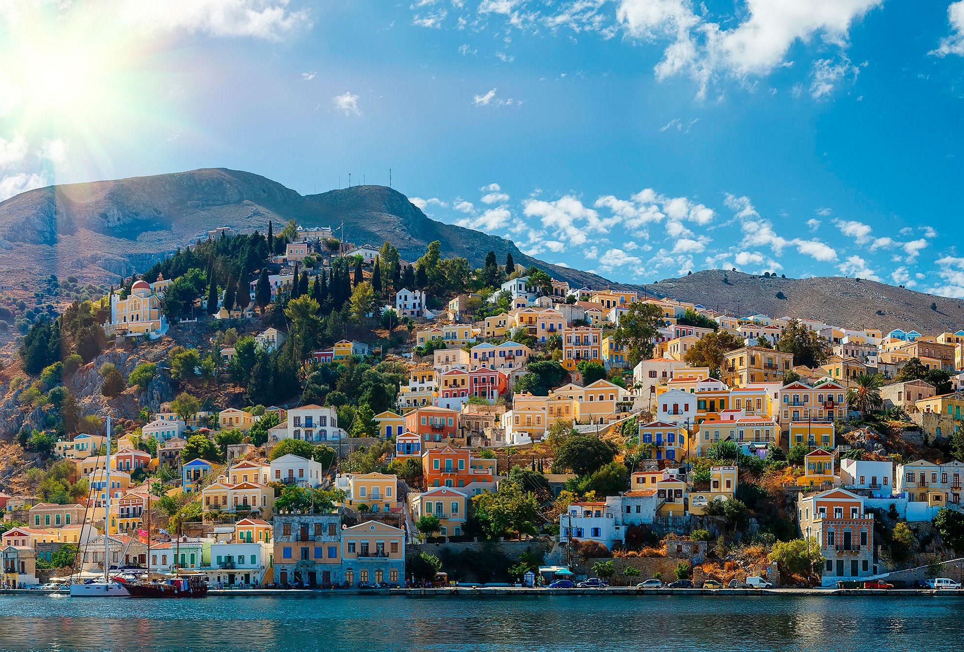 греческий остров Сими – без визы в 2019 году